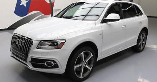 2016 Audi Q5 2016 Audi Q5 3 0t Quattro Prem Plus Awd S Line Pano 6k 109160 Texas Direct Auto Audi Q5 Audi Audi Cars