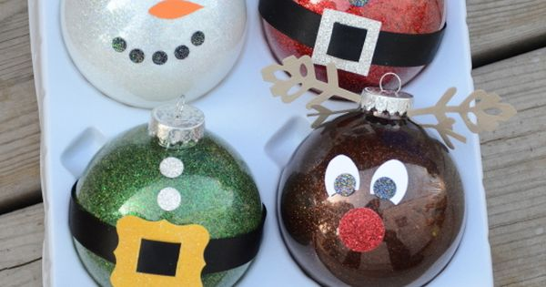 Get ready for Christmas Craft Day! DIY ornaments.