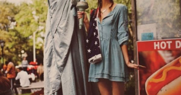 New York with Karlie Kloss by Guy Aroch for Free People Lookbook
