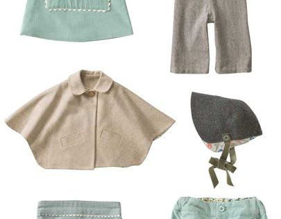 cute vintage-inspired kids clothing by olives friend pop