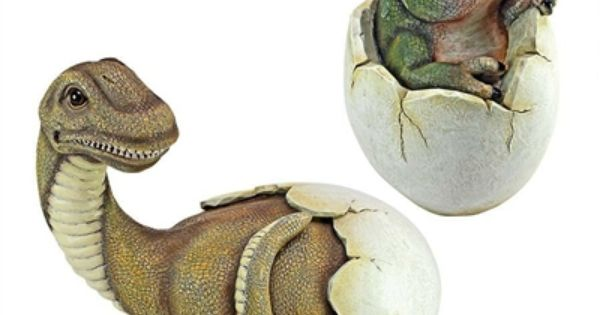 Baby Dinosaur Egg Hatchling Statues (Set Of 2). The Mighty