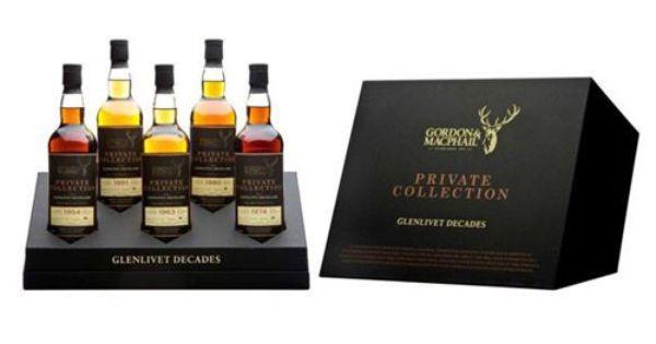 Glenlivet Decades Private Collection Crowns 3 Oldest Whiskey Whisky Single Malt Whisky