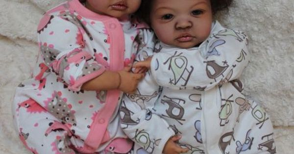 Twins Custom Order For Black Aa Baby Reborn Ethnic
