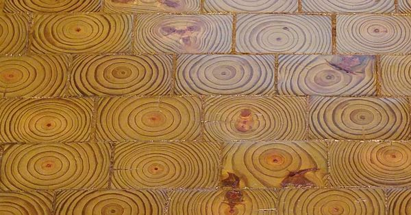 how to install end grain wood flooring