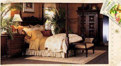 Tommy Bahama British Colonial Bedroom British Colonial Decor