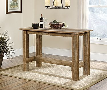 Counter Height Dinette Table Boone Mountain Complete A Smaller