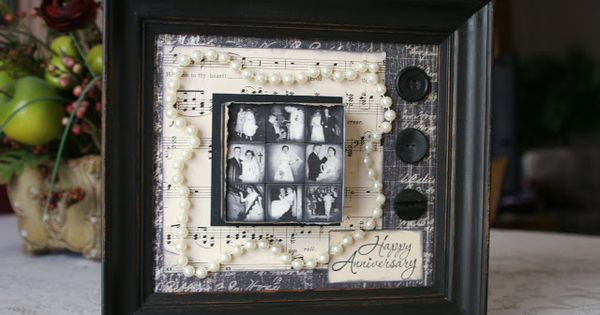 Gifts For 30th Wedding Anniversary Couple: DIY Anniversary Project. I Am So Doing This For My Parents