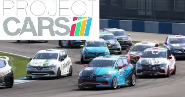Project Cars Ps4 Career Race Renault Clio Cup Donington Park Race 2 Renault Clio Clio Cup Racing