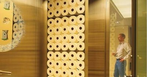 Toilet Paper Wall Divider