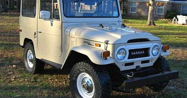 1970s Toyota Land Cruiser Google Search Toyota Toyota Dealers