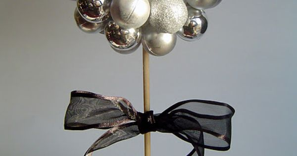 Christmas bulb decor, i want to do something like this but with