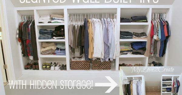 How to transform your attic into a dream storage space for Transform small closet space