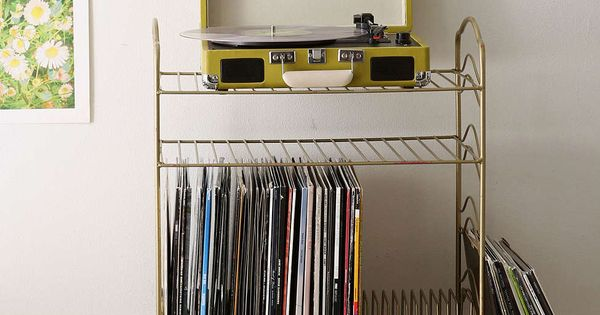 Vinyl Record Storage Shelf  집