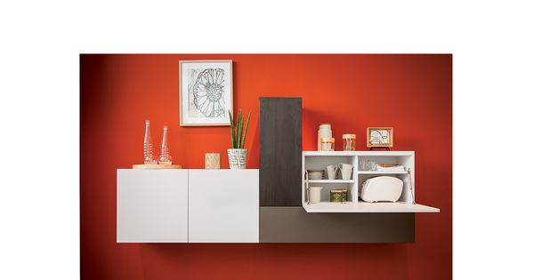 meuble de salon suspendu jakarta le meuble de rangement d coratif un rangement pour le. Black Bedroom Furniture Sets. Home Design Ideas