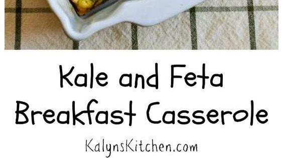 Kale and Feta Breakfast Casserole   Feta, Kale and Casserole