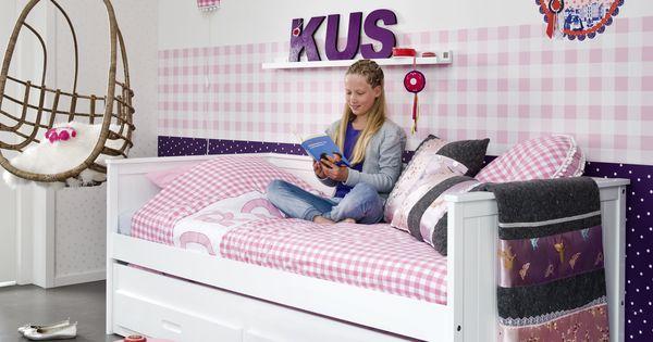 Bedbank kinderkamer coming kids pinterest beste idee n over kinderkamer slaapkamer en - Schattige meisje slaapkamer ...