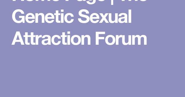Genetic sexual attraction forum