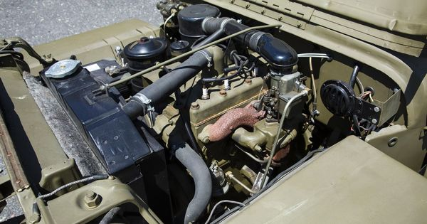 "willys mb jeep engine jeep get image about wiring diagram found in crate"" 1944 willys mb jeep to cross the block engine"