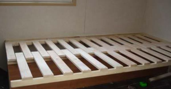 Pull Out Slatted Bed Base Popular In Campervans Runaway