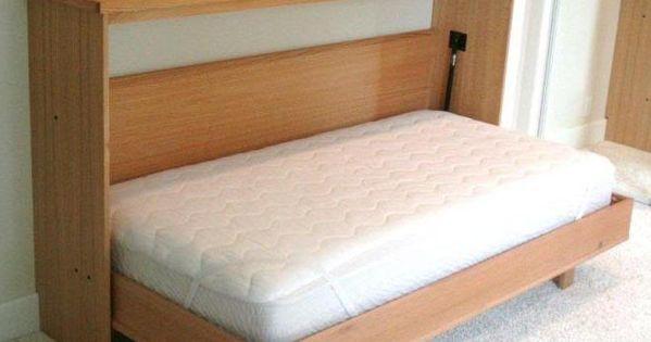 Dee 39 s cabinetry murphy beds of oregon horizontal murphy bed open murphy bed manufacturers - Pinterest murphy bed ...
