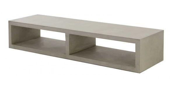meuble tv b ton cir meuble tv beton cire meuble tv design meuble tv style pur beton. Black Bedroom Furniture Sets. Home Design Ideas
