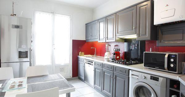 Home staging et relooking d 39 une cuisine en ch ne rustique - Relooking d une cuisine rustique ...