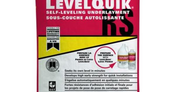 Custom Building Products Levelquik Rs Self Leveling