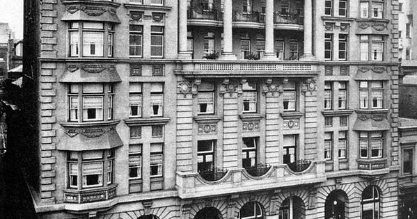 Scotts Hotel On Collins St Melbourne In Victoria Year Unknown