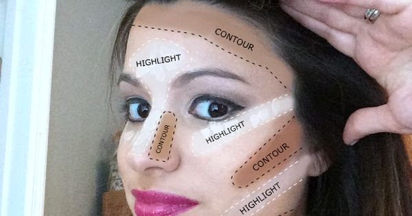 The ULTIMATE guide to highlighting and contouring- beauty blogger breaks down the
