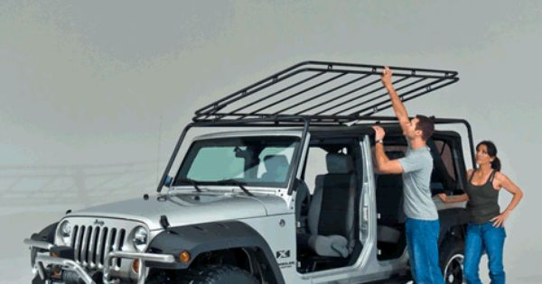 Wild Boar Products Cargo Rack Systems For Your Jeep Wrangler