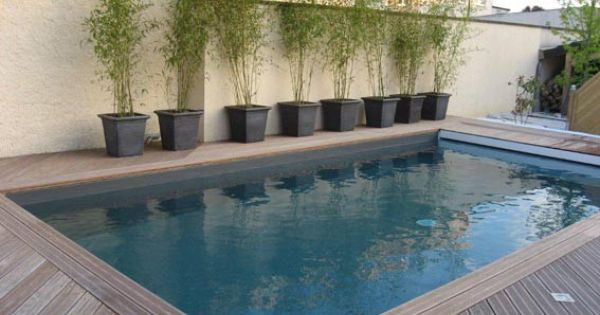 couleur d 39 eau liner gris anthracite piscine pinterest spa. Black Bedroom Furniture Sets. Home Design Ideas
