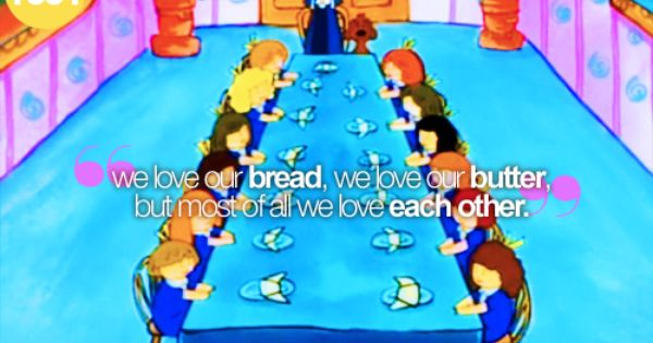 We Love Each Other: We Love Our Bread, We Love Our Butter, But Most Of All We