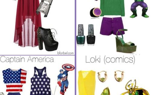 Avengers outfits