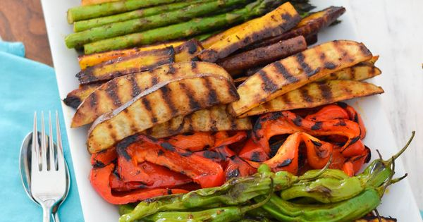 Make ahead grilled veggie hors d oeuvre recipe easy dinner party recipes stove and vegetables - Make perfect grilled vegetables ...