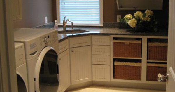 Laundry Room Corner Sink Counter Cupboards Laundry Room Sink