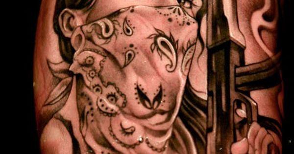 gangsta girls tattoos - photo #18