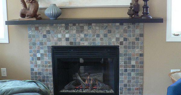 Good idea to add ikea shelf over fireplace for mantel - Mantel plastificado ikea ...