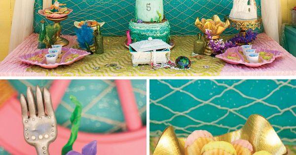 Crafty Amp Creative Little Mermaid Birthday Pool Party