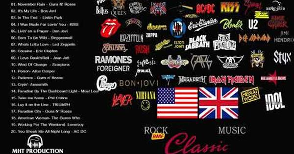 Top 100 Best Greatest Classic Rock Songs The 70 S 80 S 90 S Great