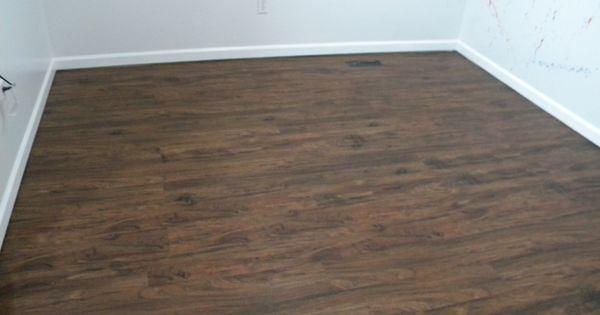Rustic Style Vinyl Flooring Waterproof Lowes Keeps This