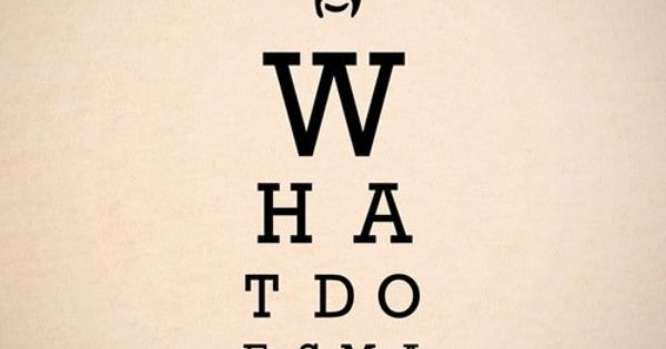 What Does Marcellus Wallace Look Like Eye Chart