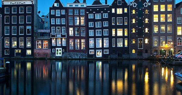 Beautiful photo of Amsterdam (Traveled there in 2004 w/ mom)