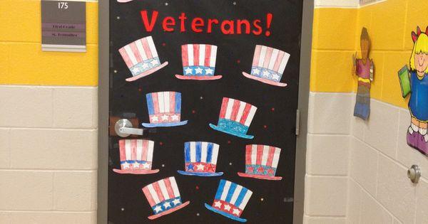 Veterans Day Classroom Door Decoration Ideas : Veterans day door idea school pinterest doors