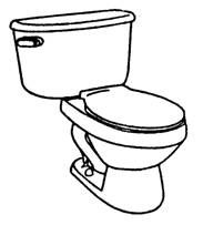 toilet clipart black and white - google search | clip art, block print,  design inspiration  pinterest