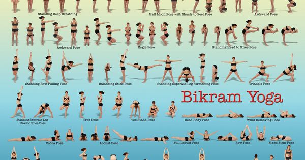 Exceptional image regarding bikram yoga poses chart printable