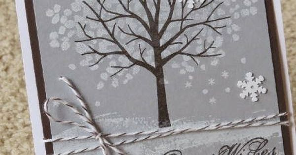 Handmade Cards; Sheltering Tree; 2015 Occasions; 2015 SAB; Stampin' Up!; Handmade Birthday