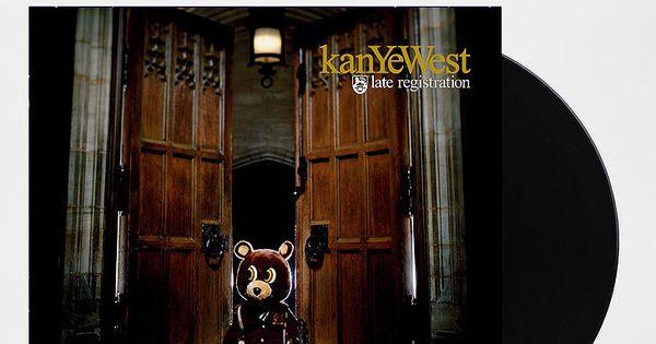 Kanye West Late Registration 2xlp Kanye West Albums Late Registration Hip Hop Albums