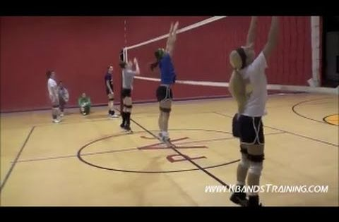 Volleyball Training Resistance Bands Vertical Jump Training Volleyball Training Vertical Jump Training Coaching Volleyball