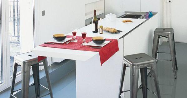 plan de travail coulissant elle maison appart pinterest petite cuisine elle maison et. Black Bedroom Furniture Sets. Home Design Ideas