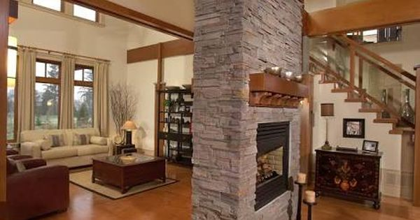 Image Result For Free Standing Double Sided Fireplaces Features